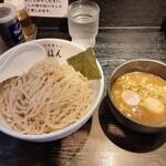 江戸前煮干中華そば きみはん - つけ麺・味玉 1000円