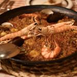 サル イ アモール - 魚介のパエリア
