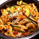 慶美 - ⚫石焼きイカ炒め