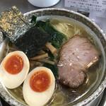 麺屋才蔵 - 味玉しお 800円