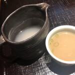 Tamawarai - 蕎麦湯