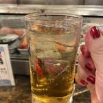 136333099 - 昼からなら梅酒のソーダ割飲む!ヾ(≧▽≦)ノギャハハ☆