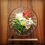 トゥッティカフェ - 料理写真:冷やし中華