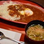 つるおか旬暦 彩鶴 - 和食屋のハヤシライス1
