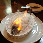 トラットリア ネル - イサキの塩釜焼き!目の前で、火をつけてもらって、びっくりしました( °ω°) これもおいしい♡