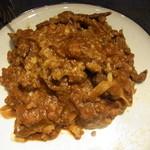 バーカロ バカージョ - ポルチーニ茸と牛ミンチのラグーソース
