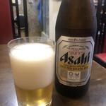 林華苑 - 先ずは何をしておいてもビールで喉の洗浄