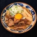 麺屋 サマー太陽 - 【期間限定】宮古牛すじ煮そば