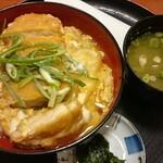 吉野ヶ里温泉弥生亭 - 料理写真:カツ丼