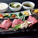焼肉名菜 福寿 - お一人様でも焼肉が楽しめる福寿の焼肉膳♪