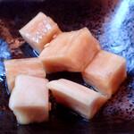 豚食健美 優膳 - 大根の漬物