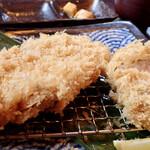 豚食健美 優膳 - ロースカツとヒレカツランチ