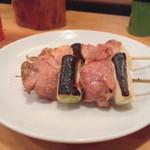 新潟屋 - 2012.6 カモ塩(1串100円)