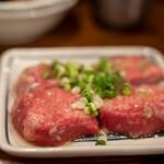 亀戸ホルモン - 2020.9 厚切りタン塩(1,650円)