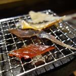136356820 - 干物炙り五種(590円)