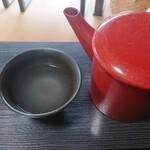 そば処秀峰 - 蕎麦湯