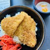 秩父そば - 料理写真:わらじカツ丼・ハーフ