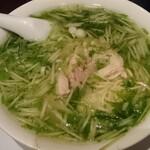 136364036 - 美顔潤肌鶏汁麺(コラーゲン鶏そば)