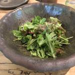 ヒグラシ - 旬の野菜たっぷりサラダ