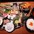 日本酒とお魚きっちん 祐星 - 鮮度抜群のお造りと焼き魚、唐揚げが1度に楽しめる!イクラ乗せご飯と赤出汁付き、祐星御膳1,000円