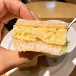 ベシャメルカフェ - ふわふわの厚焼き玉子