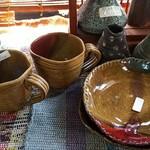 エルザ - その他写真:自作の販売品陶器・1