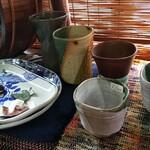 エルザ - その他写真:自作の販売品陶器・2