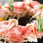囲味庵 - 料理写真:豚鉄板なべ