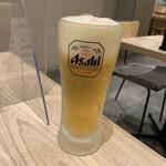 うどん和助 - 生ビール