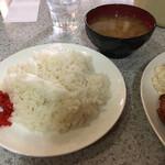 Rindo - ご飯もこれがスタンダード