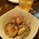 トライシクルカフェ - 仙波豆腐の照り焼き 豆乳仕立て(500円)