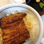 うなぎ むらおか - ランチのうな丼(1,300円)