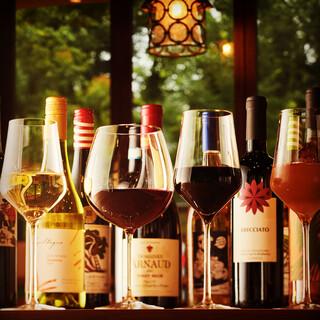 ソムリエ・川池がセレクトしたワインをお楽しみください★
