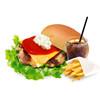 the 3rd Burger - 料理写真:チキンチーズバーガーセット