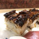 菊水 - あなご押し寿司