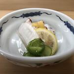菊水 - 鹿の瀬たこ酢の物