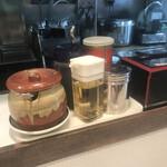 元祖 札幌や - 餃子タレは、酢 7: 醤油 3 :ラー油 2 これが私の レシピです。