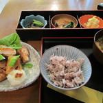 東京満月 - 鶏の味噌漬け焼きセット¥1,000