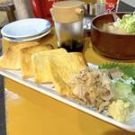 大将 - きつね焼き(350円)