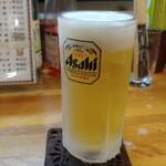 シチューの店 おのでら - 生ビール 500円