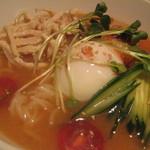 七輪焼肉 安安 - 安安冷麺490円