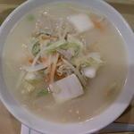 8番らーめん麺座 - 塩野菜めん