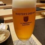 Kagurazaka sushi tamura - マスターズドリーム