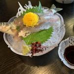 柿の葉ずし 平宗 - イキイキお造り 鮎会席