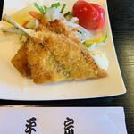 柿の葉ずし 平宗 - 鮎フライ 鮎会席