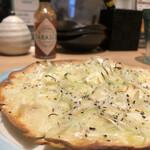テンマスタンドコバチ - 葱ウマ和風ピザ