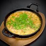 カドーロ - ひよこ豆のスパイス煮込み