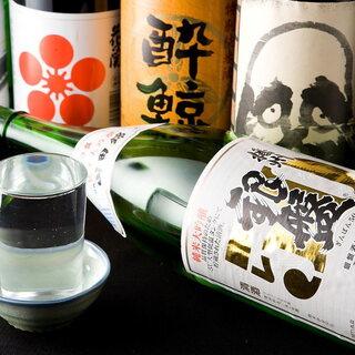 九州の旨いもんと!厳選地酒や日本酒をご用意