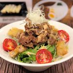 麺屋 坂本01 - サラダうどん960円