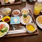 ホテルおかだ - 料理写真:朝食ビュッフェ2020.09.06